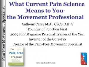 Pain Science Webinar